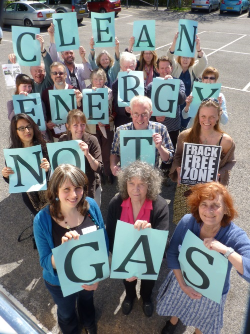Clean energy not gas please